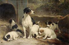 Dog ... Otto Eerelman (Dutch, 1839-1926).