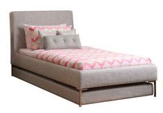 cafe kid twin trundle bed