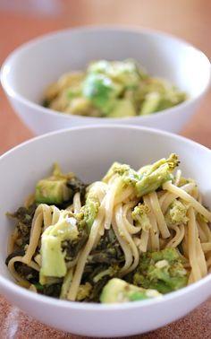 Avocado Broccoli Linguine | Cook Eat Delicious!