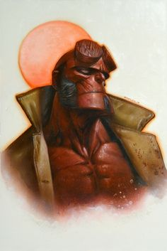 Hellboy by Greg Staples