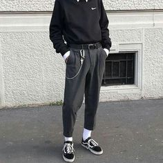 F y h on 1 2 3 or 4 classy outfit vision for more content! Grunge Outfits, Edgy Outfits, Mode Outfits, Retro Outfits, Classy Outfits, Vintage Outfits, Simple Outfits, Nike Outfits For Men, Tomboy Dresses