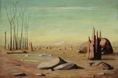Russell Drysdale Anthills on Rocky Plain Australian Painting, Australian Artists, Closer To The Sun, Visual Diary, Landscape Paintings, Artworks, Identity, Culture, Google Search