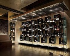 Cool wine room