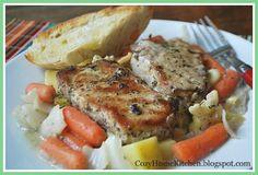 Pork and Vegetable Casserole  @CozyHomeKitchen