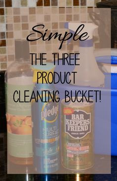 Overwhelmed by piles of cleaning products? With just a few eco-friendly and effective products, you can clean your and save money!