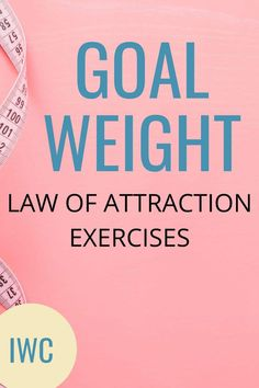 Goal Weight Law of Attraction Exercises – IDEAL WEIGHT CHALLENGE Weight Loss Journey, Weight Loss Tips, Spiritual Growth Quotes, Law Of Attraction Love, Spiritual Awakening, Weight Loss Motivation, Affirmations, Exercises, Goal