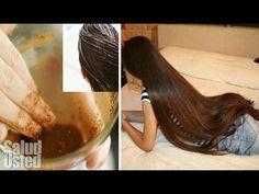 INCREÍBLE receta hará que tu cabello crezca como LOCO! - YouTube