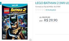 Jogo Lego Batman 2 para Wii U << R$ 2990 >>
