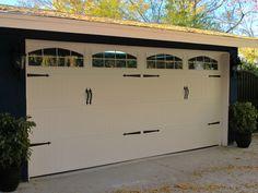 Beautiful Wayne Dalton Sonoma Garage Door with Decorative Hardware  Los Angeles, CA Photo Credit: Agi Dyer  #garagedoors #garages #garage
