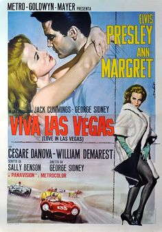 Viva Las Vegas -  Elvis and Ann Margaret at the top of their career.  Love the music and the movie !