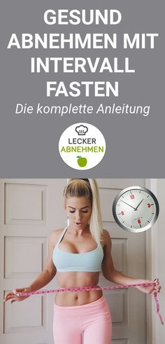 Intervall Fasting Instructions and Plan 2019 Abnehmen schnell und gesund Inf. Intervall Fasting Instructions and Plan 2019 Abnehmen schnell und gesund Informationen Fitness Nutrition, Health Diet, Health And Nutrition, Fitness Workouts, Loose Weight, How To Lose Weight Fast, Intermittent Fasting, Health Motivation, Healthy Life