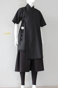 유니섹스 천의답호 남자생활한복 신한복 스타일 : 네이버 블로그