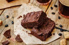 Čokoládové Brownies z fazolí :-). Prostě top mlska :-)