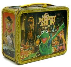 Muppet Show Lunchbox - mmm... warm bologna with mayo... Cheetos and cookies