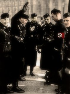SS Soldiers.