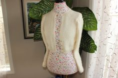 Ready to be Shipped HANDMADE Ivory Kate Middleton Angora by ufer, $150.00
