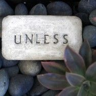 Engraved garden stones. Great way to make those very expensive memory stones. Think I need to try.