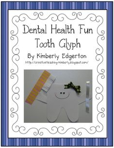 Here's more glyph fun for February! Your students will love creating Master or Miss Molar as they learn all about dental health!This download ...
