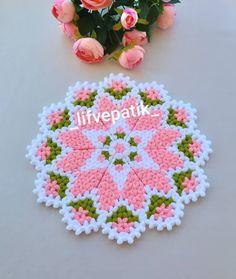 Yarn Crafts, Diy And Crafts, Crochet Dollies, Baby Knitting Patterns, Crochet Designs, Blanket, Wallpaper, Freeform Crochet, Crochet Tablecloth