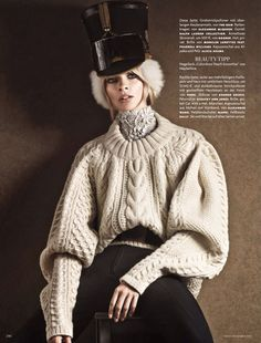 Vogue Germany December 2013 | Julia Stegner | Giampaolo Sgura