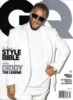 7a2d3519c6 Gq Magazine Diddy Donatella Versace Wes Anderson James Norton Tiffany  Haddish