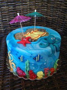 under the sea cake ideas | Under the sea...