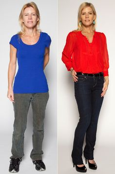 Right and wrong way to dress long torso - short legs. How to make your legs look longer.