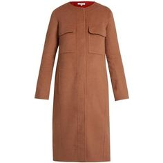 Elizabeth And James Miller round-neck double-faced wool-blend coat
