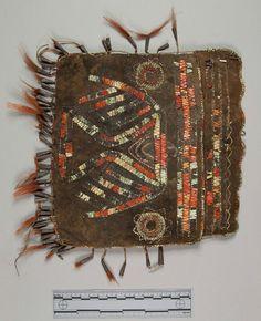 Pouch.  Chippewa.  c. 1881. Smithsonian Institute.