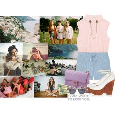 """""""Anywhere but here"""" by brunamelo on Polyvore"""