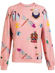 Mary Katrantzou Symbol Print Sweatshirt - Luisa World - Farfetch.com
