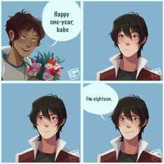 ❤️ (koukokei: Lance: ♂️why am I in love with you?)