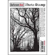 Darkroom Door - Woodlands - Rubber Cling Photo Stamp