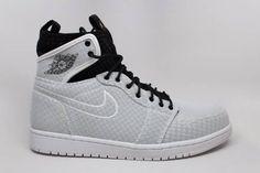 more photos c044e 8b354 844700-132 Mens Air Jordan 1 Retro Ultra High White Black Pure Platinum
