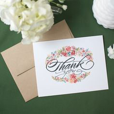 I'm so excited about this year's Thank You Printable. Or should I say PrintableS, because I've teamed up with the fabulous Natalie Malan. We were in the same vender area at Pinner…