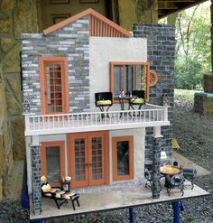 Ellath, Contemporary Dollhouse - Nana's Dollhouses and Miniatures