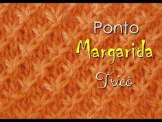 PONTO DE TRICÔ  MARGARIDA