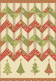 Free pattern for this cute quilt.