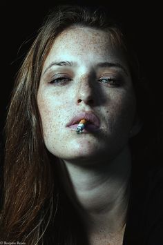 #freckles are kisses from the angels | fernanda | 2013 | foto: romina #ressia