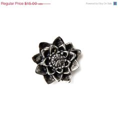 ON SALE Limited Time Only Lotus Flower Lapel Pin Gift by Mancornas, $12.95