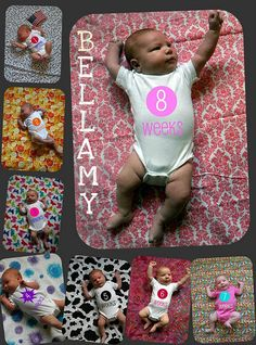 Great idea for baby photography