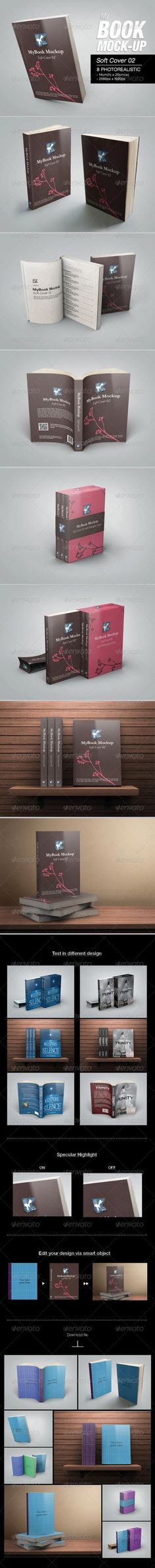 MyBook Mock-up – Soft Cover 02 6828697 » Free Hero Graphic Design: Special GFX Posts Vectors AEP Projects PSD Sources Web Templates 3D Stock Images | HeroGFX.com