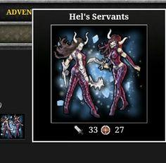 Adventure drop warrior from Hellheim in Viking Clan Realm 11