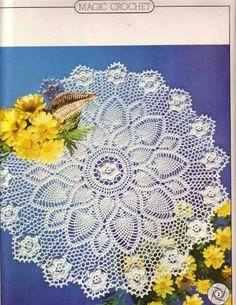 Crochet and arts: Crochet napkin 1