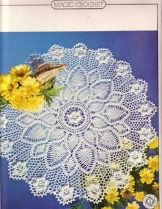 Crochet and arts: Crochet napkin 1