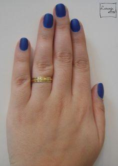 Esmalte da Semana | Lapis Lazuli (Risqué) | Nail Polish | Desafio 31 unhas | Perspectiva Laranja