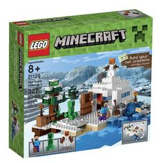 Buy LEGO Minecraft The Snow Hideout 21120 - Find a superb collection of toys and games from Hamleys. We offer fast, efficient delivery on a wide range of toys and games, all available with premium gift wrapping! Lego Minecraft, Minecraft Crafts, Legos, Buy Lego, Toy R, Game Sales, Lego Pieces, Christmas Toys, Christmas Presents