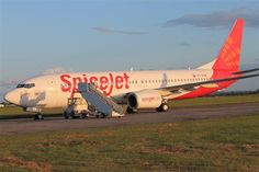 Indian low cost carrier Spicejet's aircraft through Shannon in May Aircraft, Indian, Vehicles, Aviation, Rolling Stock, Airplanes, Indian People, Vehicle, Airplane