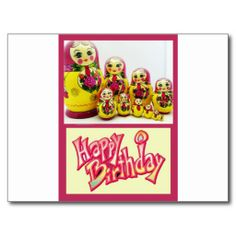 >>>Cheap Price Guarantee          	Happy Birthday Russian Dolls Matryoshka Post Cards           	Happy Birthday Russian Dolls Matryoshka Post Cards In our offer link above you will seeDiscount Deals          	Happy Birthday Russian Dolls Matryoshka Post Cards today easy to Shops & Purchase Onl...Cleck Hot Deals >>> http://www.zazzle.com/happy_birthday_russian_dolls_matryoshka_post_cards-239008318863377034?rf=238627982471231924&zbar=1&tc=terrest