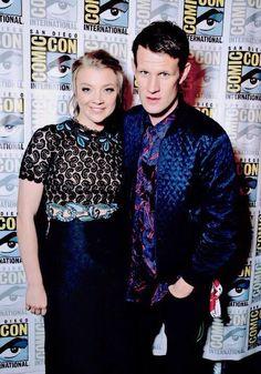 Matt Smith and Natalie Dormer